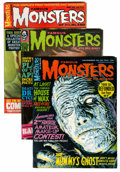 Magazines:Horror, Famous Monsters of Filmland Multiple Copies - Short Box Group (Warren, 1965-69) Condition: Average FN+....