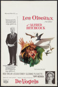 "Movie Posters:Hitchcock, The Birds (Universal, 1963). Belgian (14"" X 21""). Hitchcock.. ..."