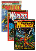 Bronze Age (1970-1979):Superhero, Warlock Group (Marvel, 1972-76) Condition: Average VG.... (Total: 41 Comic Books)