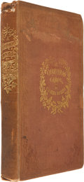 Books:Literature Pre-1900, Charles Dickens. A Christmas Carol. In Prose. Being aGhost Story of Christmas. With Illustrations by John L...