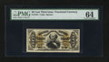 Fractional Currency:Third Issue, Fr. 1331 50¢ Third Issue Spinner. PMG Choice Uncirculated 64.. ...