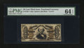 Fractional Currency:Third Issue, Fr. 1328 50¢ Third Issue Spinner. PMG Choice Uncirculated 64 EPQ.. ...