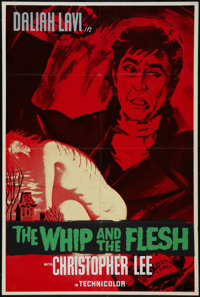 """The Whip and the Flesh (Cinepix Film Properties, 1963). British Poster (28"""" X 42""""). Horror"""