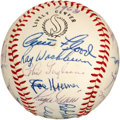 Autographs:Baseballs, 1968 St. Louis Cardinals Team Signed Baseball with Maris....