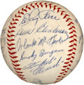 Autographs:Baseballs, 1964 Pittsburgh Pirates Team Signed Baseball....