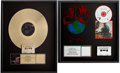 Music Memorabilia:Awards, Lita Ford and 4 Non Blondes RIAA Album Awards.... (Total: 2 )