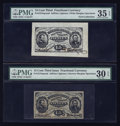Fractional Currency:Third Issue, Fr. 1274SP 15¢ Third Issue Wide and Narrow Faces. PMG Choice Very Fine 35 EPQ and Very Fine 30 EPQ.. ... (Total: 2 notes)
