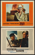 "Movie Posters:Adventure, Moby Dick Lot (Warner Brothers, 1956). Lobby Cards (2) (11"" X 14""). Adventure.. ... (Total: 2 Items)"