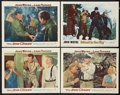 "Movie Posters:War, The Sea Chase Lot (Warner Brothers, 1955). Lobby Cards (4) (11"" X14""). War.. ... (Total: 2 Items)"