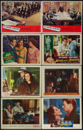 """Movie Posters:Hitchcock, The Wrong Man Lot (Warner Brothers, 1957). Lobby Cards (8) (11"""" X14""""). Hitchcock.. ... (Total: 8 Items)"""