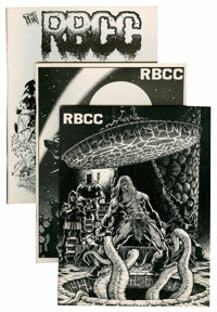 Rocket Blast Comicollector Group (S.F.C.A., 1974-76) Condition: Average VF-.... (Total: 17 Comic Books)