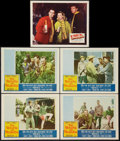 "Movie Posters:Adventure, The Roots of Heaven Lot (20th Century Fox, 1958). Lobby Cards (5)(11"" X 14""). Adventure.. ... (Total: 5 Items)"