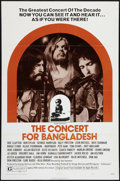 "Movie Posters:Rock and Roll, The Concert for Bangladesh (20th Century Fox, 1972). One Sheet (27""X 41"") Style B. Rock and Roll.. ..."