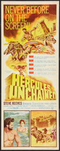 "Movie Posters:Adventure, Hercules Unchained (Warner Brothers, 1959). Insert (14"" X 36"").Adventure.. ..."