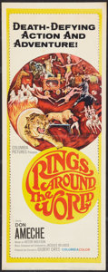 "Movie Posters:Documentary, Rings Around the World (Columbia, 1966). Insert (14"" X 36""). Documentary.. ..."
