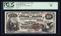 National Bank Notes:Pennsylvania, Philadelphia, PA - $10 1882 Brown Back Fr. 490 The Franklin NB Ch.# (E)5459. ...