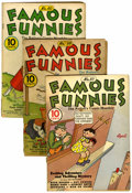Golden Age (1938-1955):Miscellaneous, Famous Funnies Group (Eastern Color, 1939-40).... (Total: 15 Comic Books)