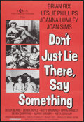 "Movie Posters:Sexploitation, Don't Just Lie There, Say Something Lot (K-Tel, 1973). Poster(23.5"" X 34.5"") and One Sheets (3) (27"" X 41""). Sexploitation....(Total: 4 Items)"