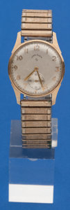 Timepieces:Wristwatch, Lord Elgin 14k Gold Wristwatch For Restoration. ...