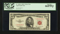 Small Size:Legal Tender Notes, Fr. 1535* $5 1953C Legal Tender Note. PCGS Gem New 66PPQ.. ...