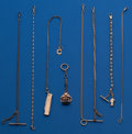 Timepieces:Watch Chains & Fobs, Lot of Eight Watch Chains. ... (Total: 8 Items)
