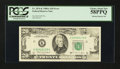 Error Notes:Missing Magnetic Ink, Fr. 2076-K $20 1988A Federal Reserve Note. PCGS Choice About New58PPQ.. ...