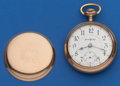 Timepieces:Pocket (post 1900), Illinois 21 Jewel, 18 Size Bunn Special. ...