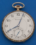 Timepieces:Pocket (post 1900), Burlington 21 Jewel, 12 Size Pocket Watch. ...