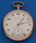 Timepieces:Pocket (post 1900), Waltham 15 Jewel, 12 Size Pocket Watch. ...