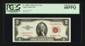 Small Size:Legal Tender Notes, Fr. 1509* $2 1953 Legal Tender Note. PCGS Superb Gem New 68PPQ.. ...