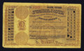 Miscellaneous:Other, Salem, OR- Postal Note Type 1 1¢ Aug. 1884. ...