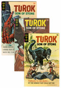 Silver Age (1956-1969):Adventure, Turok, Son of Stone Group (Gold Key, 1966-76) Condition: Average FN-.... (Total: 36 Comic Books)