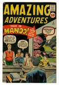 Silver Age (1956-1969):Horror, Amazing Adventures #2 (Marvel, 1961) Condition: VG+....
