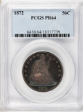Proof Seated Half Dollars, 1872 50C PR64 PCGS....