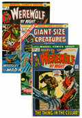 Bronze Age (1970-1979):Horror, Werewolf by Night Group - Western Penn pedigree (Marvel, 1972-77)Condition: Average VF/NM.... (Total: 25 Comic Books)