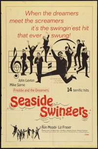 """Seaside Swingers Lot (Grand National, 1965). One Sheets (2) (27"""" X 41""""). Rock and Roll. ... (Total: 2 Items)"""