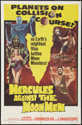 """Movie Posters:Fantasy, Hercules Against the Moon Men Lot (Governor Films, 1965). One Sheets (2) (27"""" X 41""""). Fantasy.. ... (Total: 2 Items)"""