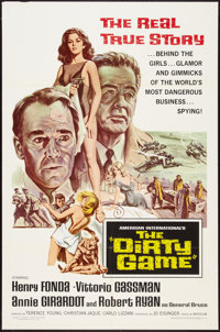 """The Dirty Game (American International, 1966). One Sheet (27"""" X 41""""). Thriller"""