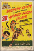 "Movie Posters:Comedy, Money from Home (Paramount, 1954). One Sheet (27"" X 41"") 3-D Style. Comedy.. ..."