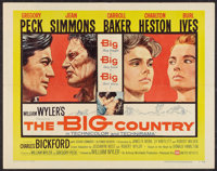 """The Big Country Lot (United Artists, 1958). One Sheet (27"""" X 41"""") and Half Sheet (22"""" X 28"""") Style B..."""