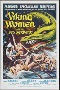 """Movie Posters:Fantasy, Viking Women and the Sea Serpent (American International, 1957). One Sheet (27"""" X 41"""") Flat Folded. Fantasy.. ..."""