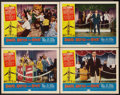 "Movie Posters:Rock and Roll, Shake, Rattle and Rock (American International, 1956). Lobby Cards(4) (11"" X 14""). Rock and Roll.. ... (Total: 4 Items)"
