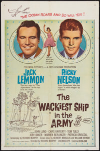"""The Wackiest Ship in the Army Lot (Columbia, 1961). One Sheets (2) (27"""" X 41""""). Comedy. ... (Total: 2 Items)"""