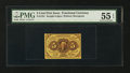 Fractional Currency:First Issue, Fr. 1231 5¢ First Issue. PMG About Uncirculated 55 EPQ.. ...