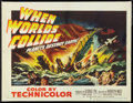 """Movie Posters:Science Fiction, When Worlds Collide (Paramount, 1951). Half Sheet (22"""" X 28"""") StyleB. Science Fiction.. ..."""