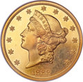 Proof Liberty Double Eagles, 1888 $20 PR64 Cameo NGC. CAC....