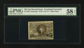 Fractional Currency:Second Issue, Fr. 1320 50¢ Second Issue. PMG Choice About Unc 58 EPQ.. ...