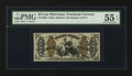 Fractional Currency:Third Issue, Fr. 1366 50¢ Third Issue Justice. PMG About Uncirculated 55 EPQ.. ...
