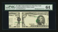 Error Notes:Major Errors, Fr. 1984-B $5 1995 Federal Reserve Note. PMG Choice Uncirculated64.. ...