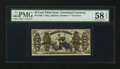 Fractional Currency:Third Issue, Fr. 1368 50¢ Third Issue Justice. PMG Choice About Unc 58 EPQ.. ...